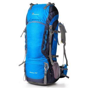 Elongated trips backpack