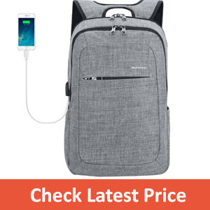 Kopack Slim Business Laptop Slim Backpack