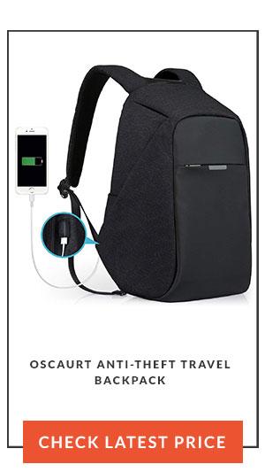 Oscaurt Anti-Theft Travel Backpack latest price