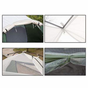 SEMOO Double Layer Lightweight CampingTraveling Tent with Carry Bag Review in 2019 (6)