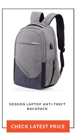 Sosoon Laptop Anti-Theft Backpack