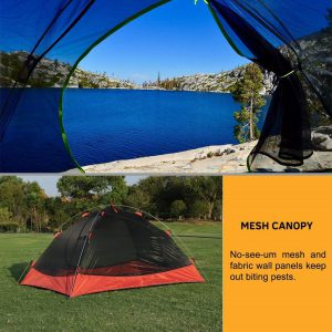 Weanas three-season two-person backpacking Tent Review in 2019 (7)