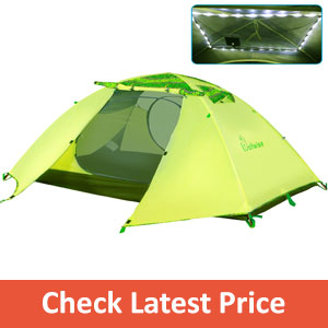 WolfWise 2-Person 3-4 Season Backpacking Tent