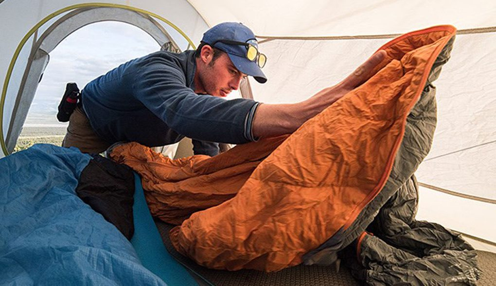 how to clean backpacking tent