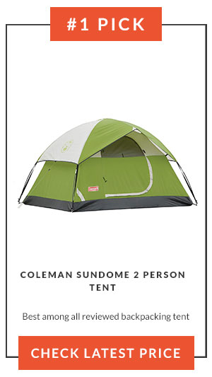 #1 Pick Best Backpacking Tent