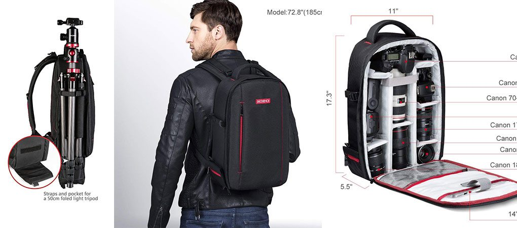 Beschoi DSLR Camera Backpack Review