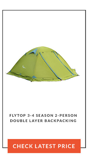 Flytop 3-4 season 2-person Double Layer Backpacking Tent