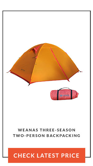 Weanas Three-Season Two-Person Backpacking Tent