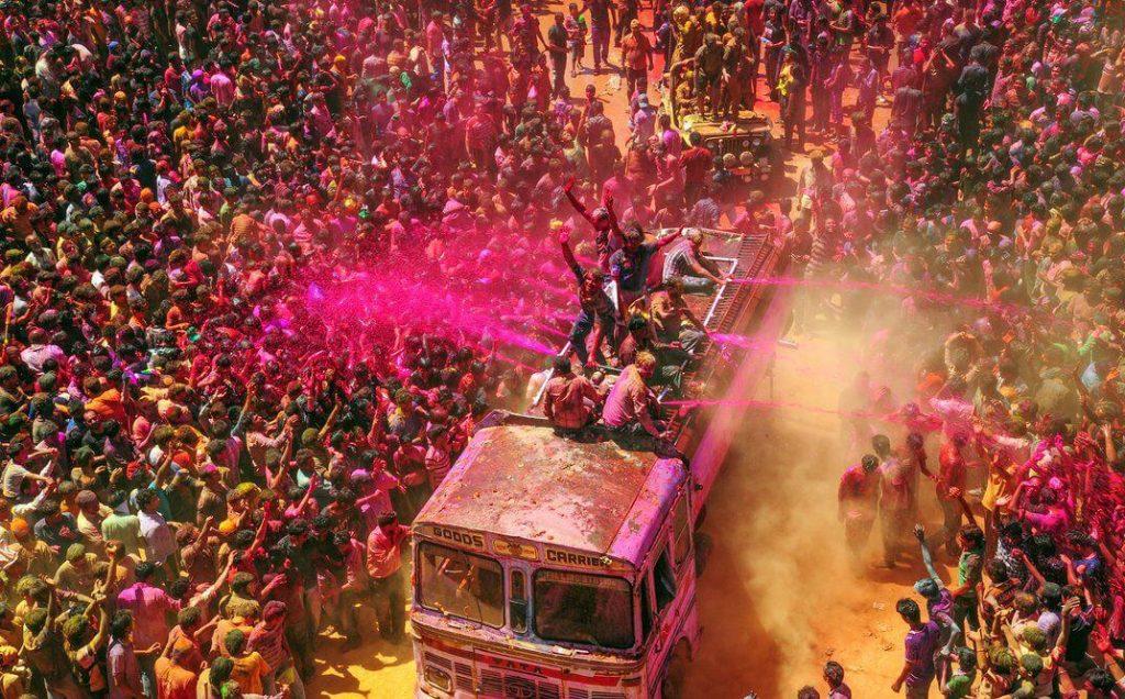 A cultural segment of India