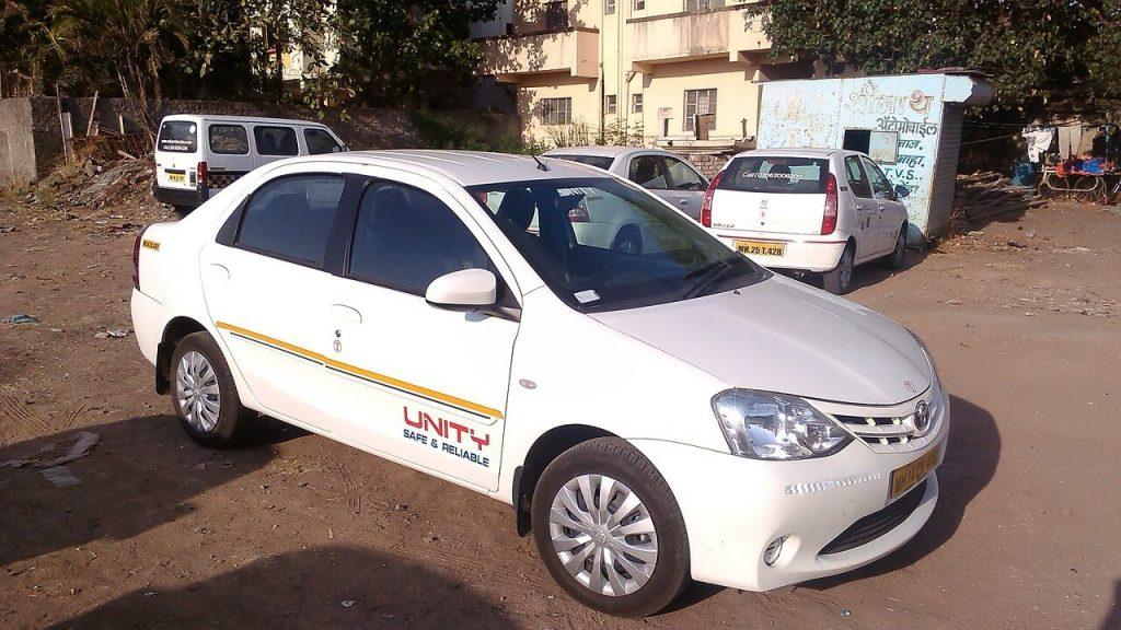 Renting car in India