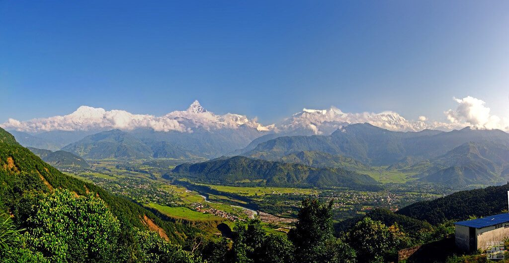 View of Nepal